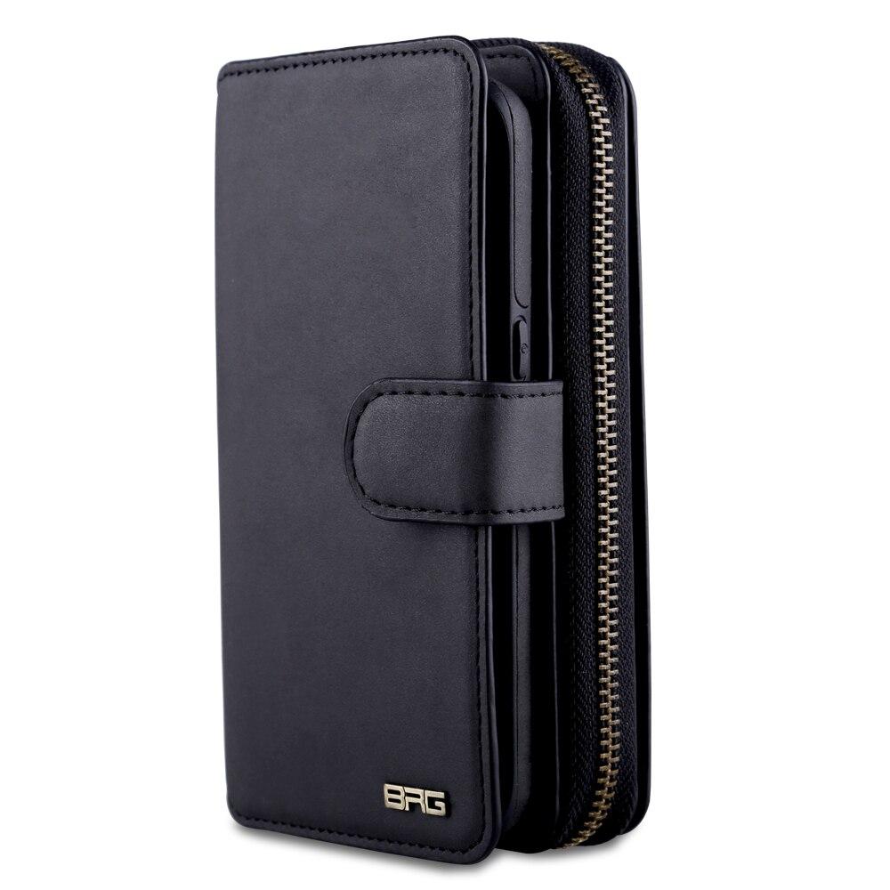 Для Samsung Galaxy S8 сумка 2 в 1 съемный кожаный флип молнии бумажник для Samsung S8 Plus Магнитная портативный сумки