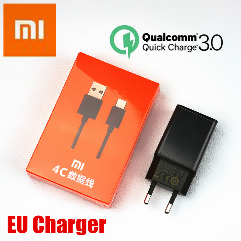 Original Eu Xiaomi Mi A2 Charger Qc 3.0 Quick Charge Fast Charger For A1 8 Se 6 5s 5 Redmi Pro Mi5s Mi5 Mi6 Mi8 Mix 2 2s Max 2 3 A Great Variety Of Models Mobile Phone Accessories Cellphones & Telecommunications