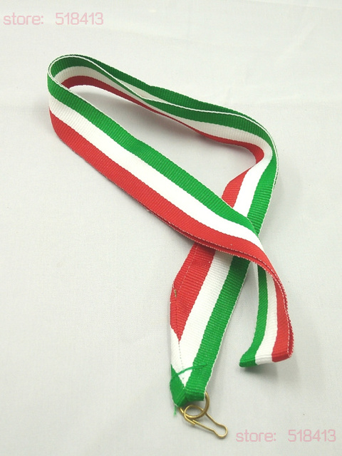 Red White Blue Medal Ribbons High Quality Tied Gymnastics Unisex School  Sport Day Ribbon Embroidery Hot