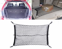Free Shipping Tracking Nylon Car Rear Cargo Trunk Storage Organizer Net For SUV CR V Tucson