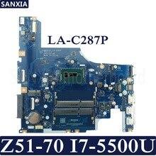 KEFU AIWZ0/Z1 LA-C287P Laptop motherboard for Lenovo Z51-70 Test original mainboard I7-5500U
