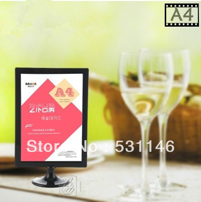 10pcsabs plastic digital photo frame poster advetising price tag a4 display standtable menu display