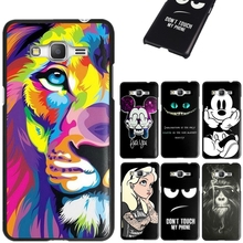 For Samsung Grand Prime G530 Case Cartoon Pattern Cover For Samsung Galaxy Grand Prime G530 G531F  Hard Back Phone Coque Capa