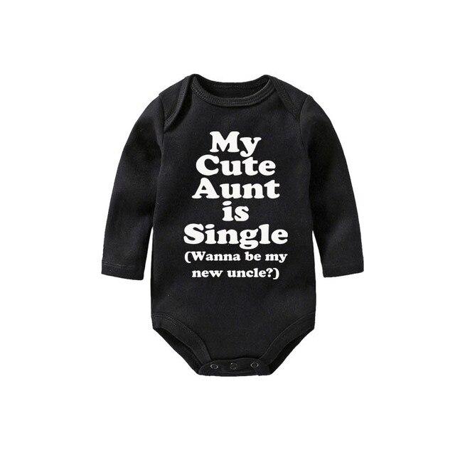 0f7961e22ce5f Culbutomind tante bébé Body manches longues noir nouveau-né Body bébé  vêtements filles garçons Triangle