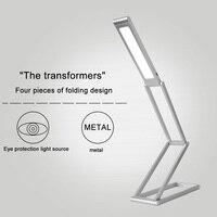 タッチスイッチの高品質強度調整可能なusb充電式ledテーブルランプデスクライト読書新しいライトガイド