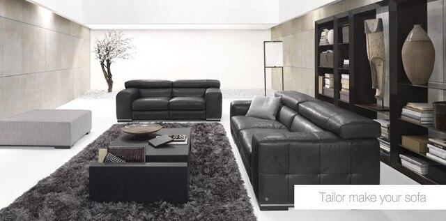 designer modern style top graded cow genuine leather corner living room sofa set suite home furniture 2+3 seater 1