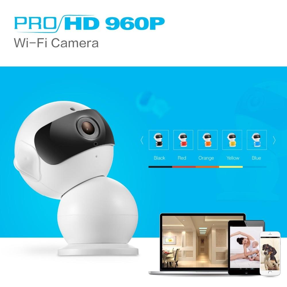 ANNKE FHD 960P Bezdrátová IP kamera Inteligentní Wi-fi CCTV Kamera P2P Baby Monitor Pan Tilt Bezpečnostní kamera Obousměrný zvuk