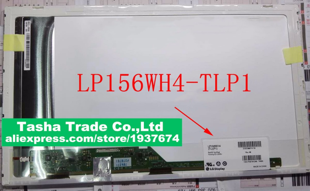 цена на LP156WH4 LP156WH4-TLP1 LP156WH4 (TL)(P1) LCD Screen LED Display Matrix Bottom Left Matte 15.6 Normal LED 1366*768 HD