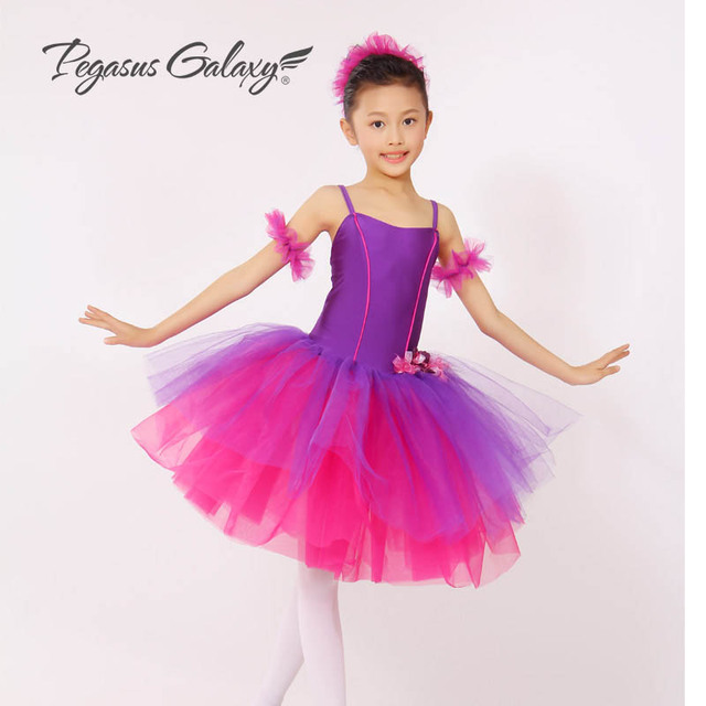 c898c6ceddc7 Purple Long Tutu Skirt Gymnastics Leotard F Girls Saia Classic ...