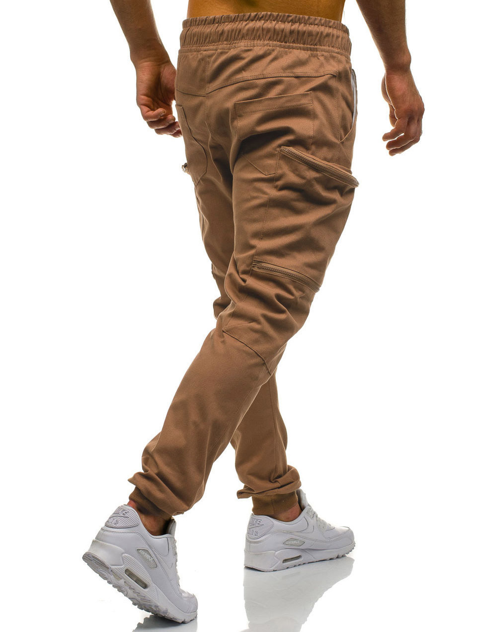 HTB1VFruL4YaK1RjSZFnq6y80pXa9 Mens Joggers 2019 New Red Camouflage Multi-Pockets Cargo Pants Men Cotton Harem Pants Hip Hop Trousers Streetwear XXXL