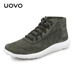 Image 3 - حذاء رجالي حذاء كاجوال تصميم جديد طارد المياه حقيقية أحذية من الجلد خفيفة الوزن دائم أحذية بنعل مطاطي الرجال Eur #40 44