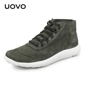 Image 3 - Men Shoes Casual Shoes New Design Water Repellent Genuine Leather Shoes Lightweight Durable Rubber Sole Shoes Men Eur #40 44