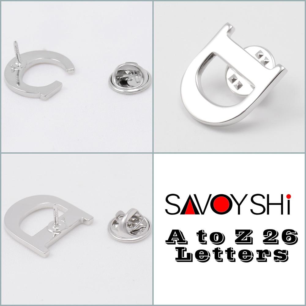 SAVOYSHI від A до Z 26 Металеві листи - Модні прикраси - фото 2