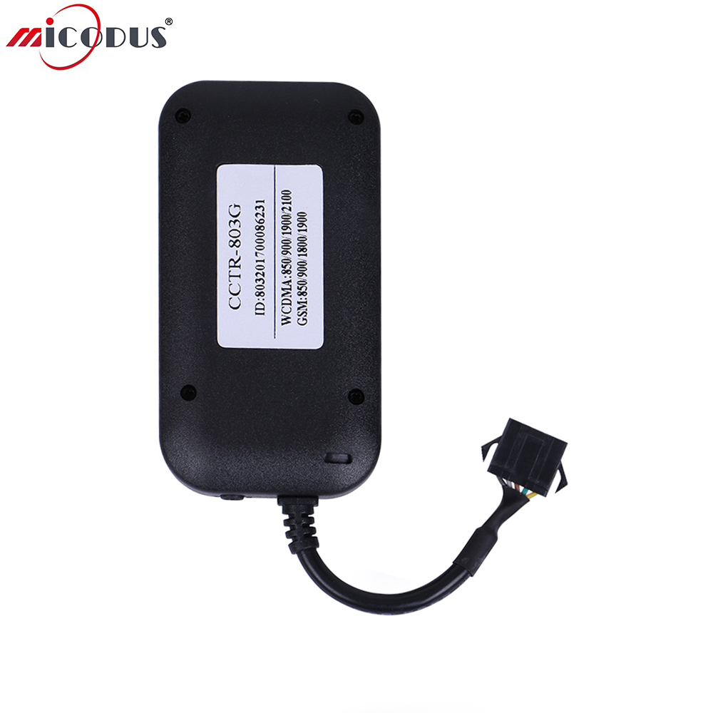 3G Car GPS Tracker Remote Turn Off Car Engine SOS Button Google Map link Real Time Tracking Device 3G WCDMA Global CCTR-803G