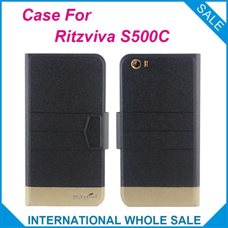 5 barev Hot! Pouzdro Ritzviva S500C, 2016 Nejkvalitnější nový - Příslušenství a náhradní díly pro mobilní telefony