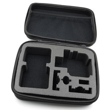 Gopro Accessories Portable Medium Size Camera Bag Gopro Case for Gopro Hero 4 3+ For Xiaomi 3 2 1 Action Camera SJ4/5/6/7/8/9000