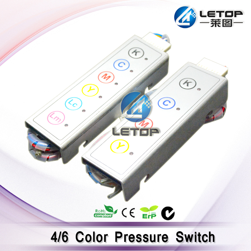 New modal infinity 6 color pressure switch/system for infinity/challenger/phaeton/JHF inkjet printer велосипед challenger agent lux 26 черно серый 18