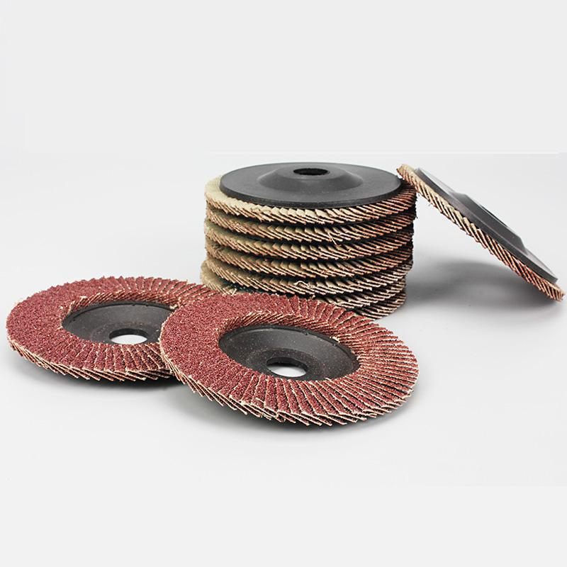 1pc Angle Grinder Wheels Plastic 100mm Flap Sanding Abrasive Discs Bore 80&90 Grit 16mm Hole Size Tools