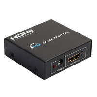 HD 4K 2K 2 Port HDMI Splitter 3D Hub 1 In 2 Output HDMI Switch Converter