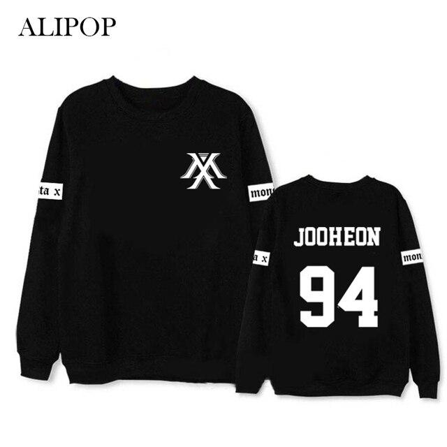 US $12 23 35% OFF|Youpop Kpop MONSTA X JOOHEON I M Album Hoodie K POP  Casual Cotton Hoodies Clothes Pullover Printed Long Sleeve Sweatshirts  WY422-in