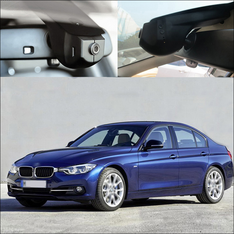 BigBigRoad For BMW 3 series e36 320d 320i f30 e90 340i 328i 335i 318i gt m3 f31 Car wifi DVR Video Recorder black box Dash Cam