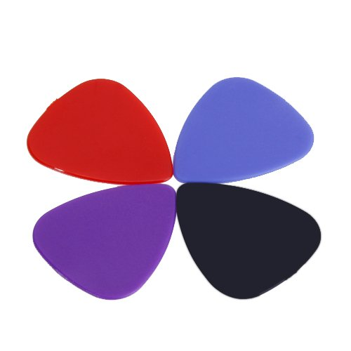 Approx. 100pcs Plastic Guitar Picks Plectrums--Assorted Random Color funny blades style small plastic spinning tops random color 4 pcs