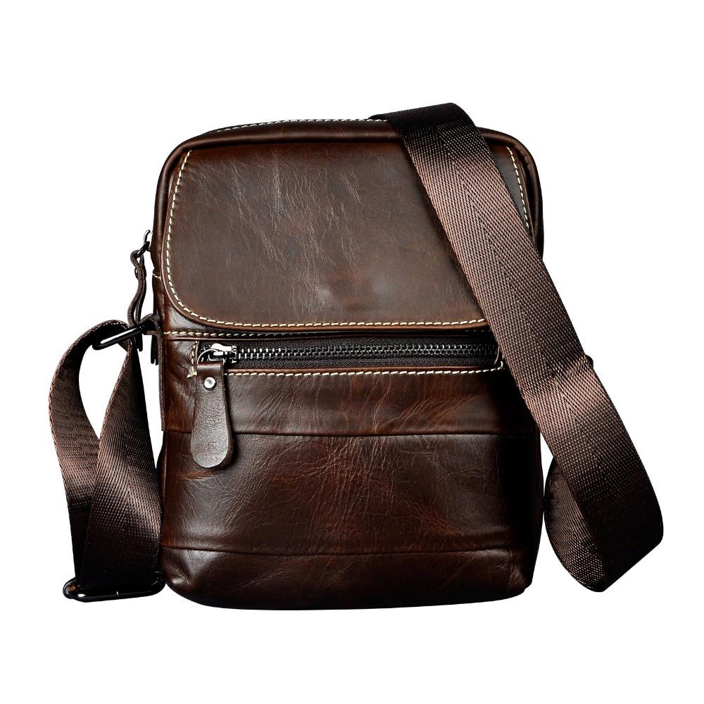 Real Leather Male Design Small One Shoulder Bag Messenger bag cowhide fashion Crossbody Bag 8 Pad Satchel bag 6023Real Leather Male Design Small One Shoulder Bag Messenger bag cowhide fashion Crossbody Bag 8 Pad Satchel bag 6023