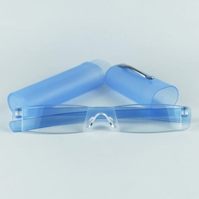 f0977733523 Cheap Slim And Slender The Tube Reading Glasses For Older s With Plastic  Case