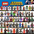 Super cool ação figuras blocos de construção civil war x-men deadpool hulk homem de ferro diy educação aprendizagem brinquedos infantis presentes