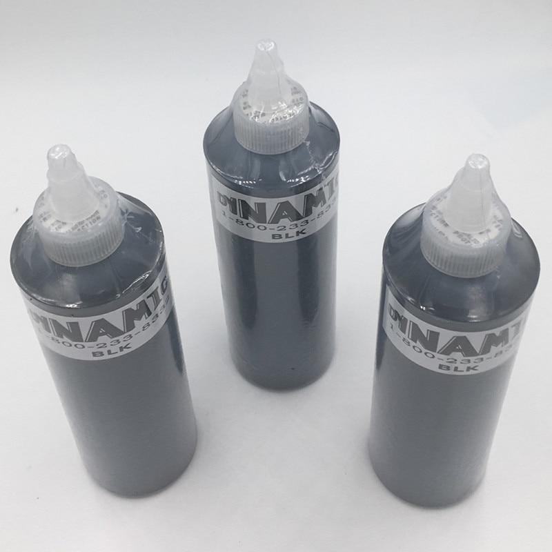 Penghantaran percuma 1 botol Dakwat Tatu Dinamik 250ml 8oz 330g - Seni tatu dan badan - Foto 2