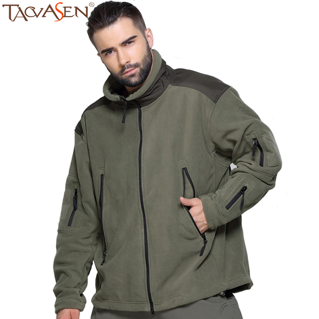 fd633da349b8a TACVASEN New Outdoor Men Jacket Winter Tactical Coat Fleece Clothing  Climbing Hiking Jackets Soft Shell Male Jacket SH-ADL-03