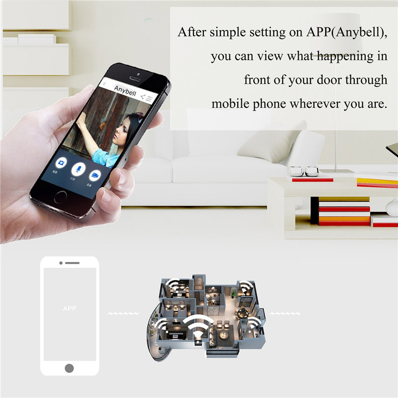 Closeout DealsùDoorbell Wifi Smart Audio Camera Alarm Video-Intercom Two-Way Motion-Detection Night-Vision⌐