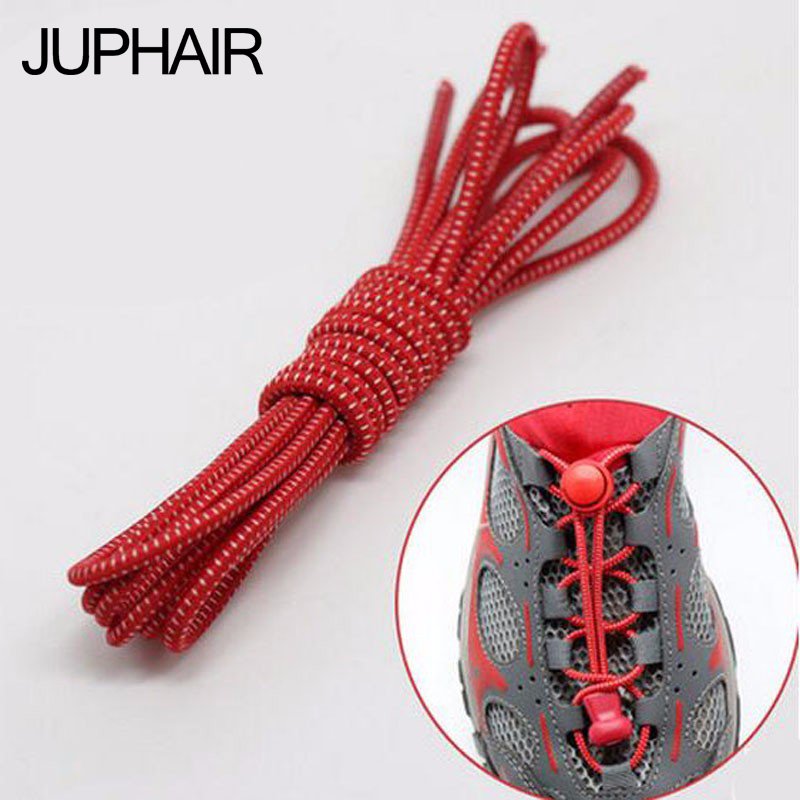 JUP 5 Pair Men Women Sport of Lock No Laces Tie Laces Sneaker Elastic Laces children safe Elastic Shoe Sneakers Lazy Shoes Tring