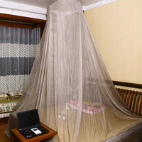 BLOCK EMF Protect the body anti radiation EMI EMF shielding round mosquito canopy bed net 100%Silver Fiber