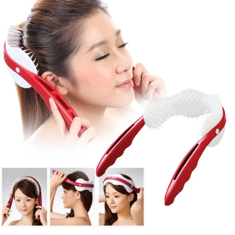 1Pcs Scalp Massage Brush Soft Silicone Body Head Hair Massage Comb Brush Health Care Head Massager Relaxation Tools RP1-5