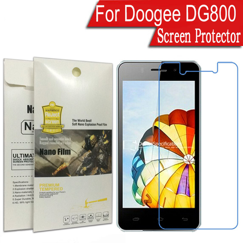 Doogee DG800 Nano Soft Explosion-proof Guard Cover For Doogee Valencia DG800 Screen Protector (Not Tempered Glass)