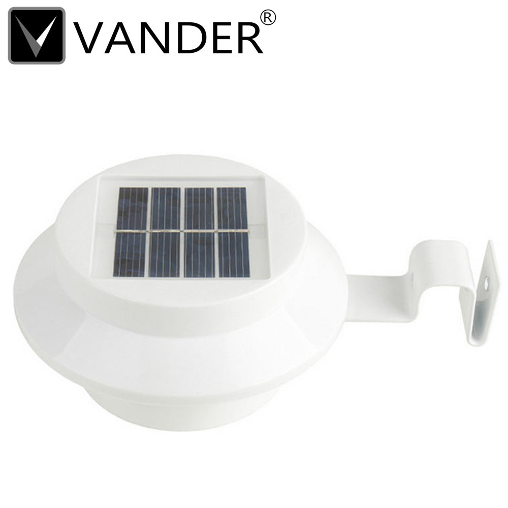 3 Led Solar Outdoor Light Panel Powered Automatic Control Lamp Energy Saving Wall Lamp Solar Security Lights For Outdoor Garden