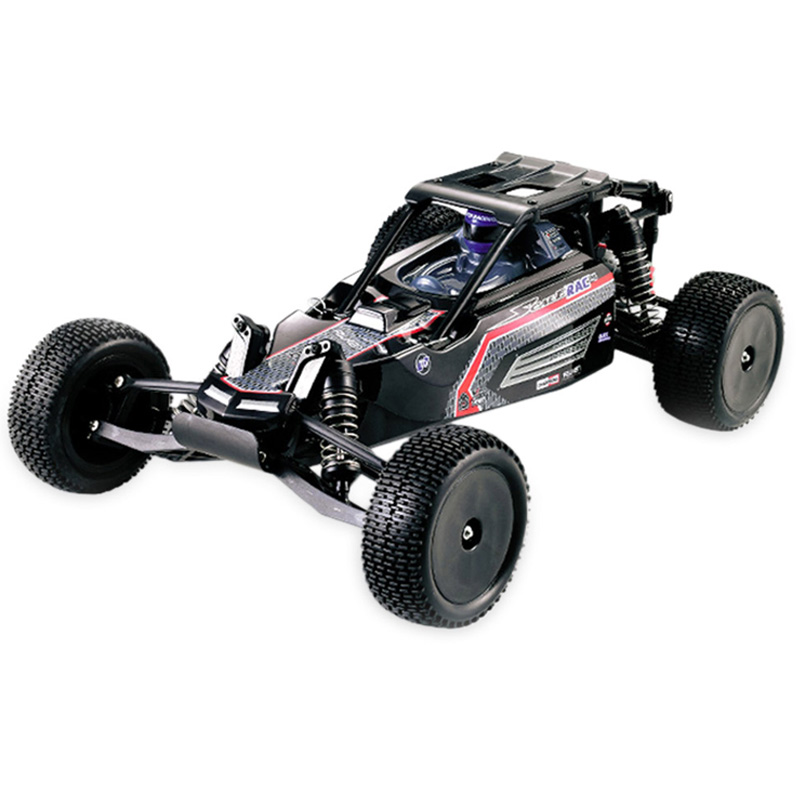 HUANQI High Speed RC Cars 1:10 Scale 2.4G 2WD 42km/h Rechargeable Remote Control Short Truck Off-road Car RTR Vehicle Toy 2016 2016 hot sell 1 16 rc off road vehicle car 2 4ghz rc remote control high speed 50kg h truck car 4wd rc climbing short course rtf