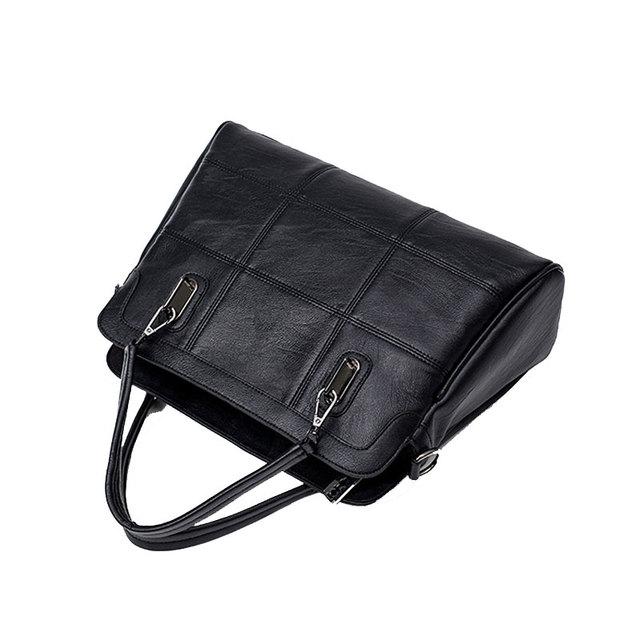 YGDB Brand Women Handbag Genuine Leather Vintage Versatile Shoulder Bag Ladies Tote Messenger Crossbody Bags Female Purse 1629#