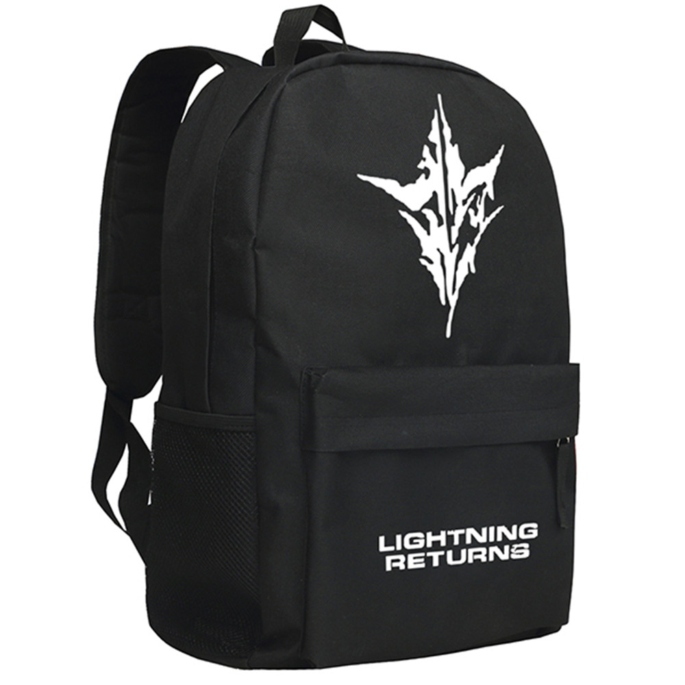 Final Fantasy Backpack Eclair Farron Shoulder Bag Lightning Daypack 2750 fantasy cotu