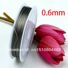 50M Silver Tone Beading Wire 0