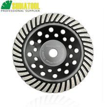 цена на 7/180mm Diamond Spiral Turbo Grinding Cup Wheel, bore 16mm for concrete, brick grinding