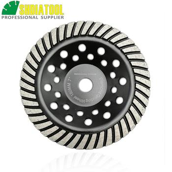 SHDIATOOL 7/180mm Diamond Spiral Turbo Grinding Cup Wheel, Bore 16mm Concrete, Brick Grinding Wheel wheel page 7