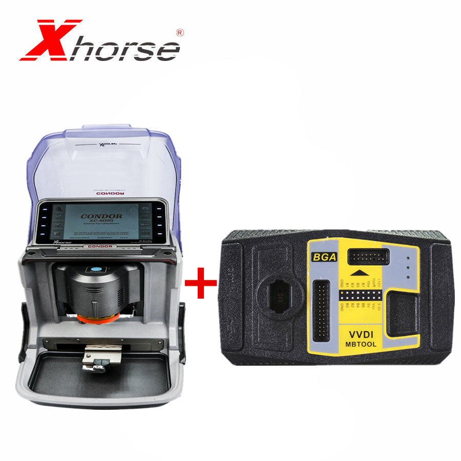 Xhorse V5.0.2 VVDI <font><b>MB</b></font> BGA TooL for Benz <font><b>Key</b></font> <font><b>Programmer</b></font> Xhorse IKeycutter CONDOR XC-MINI Plus Automatic Car <font><b>Key</b></font> Cutting Machine image