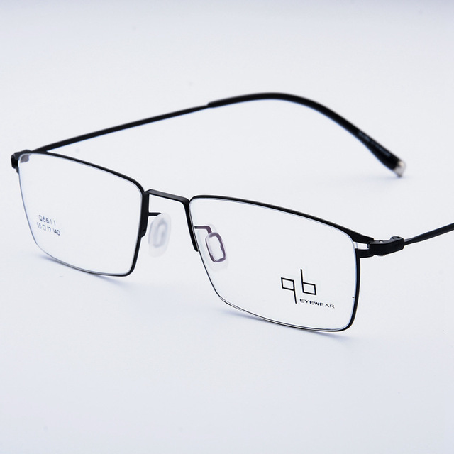 48d94599c7 Man Titanium Alloy Glasses Optical High End Classic Men Eyeglasses Frame  Top Quality Male Spectacle Myopia Eyewear Ultra Light