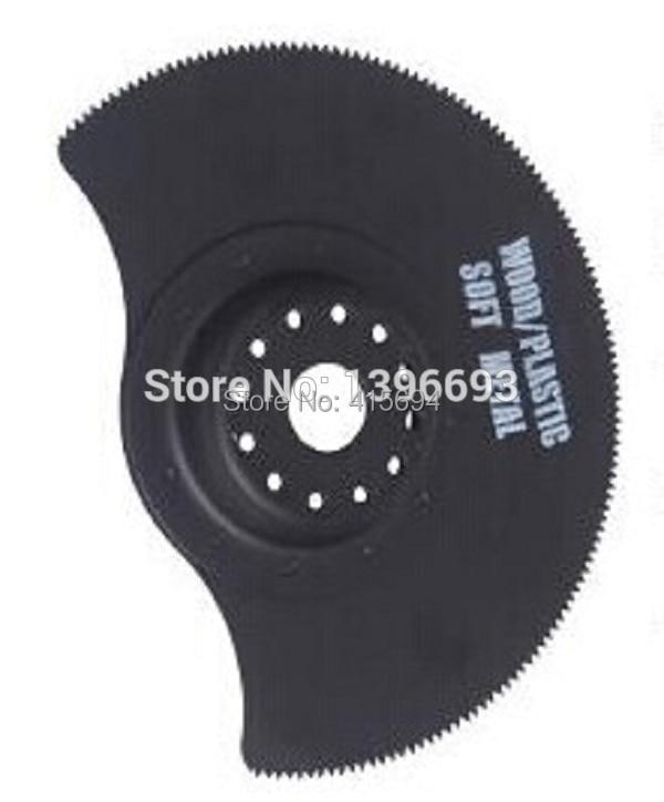 3vnt. / Rinkinys 78mm pusapvalis HSS ašmenų virpesių įrankis. - Ašmenys pjūklams - Nuotrauka 3