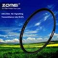Zomei 82mm ultra-fino vidro óptico ultra-violeta uv protector filtro de lente para canon nikon sony camera 82mm lente