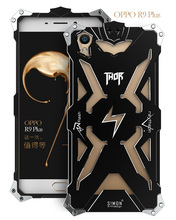 OPPO R9 R9 plus Original Design Armor Heavy Dust Metal Aluminum THOR IRONMAN protect phone shell case cover for OPPO R9 R9 plus