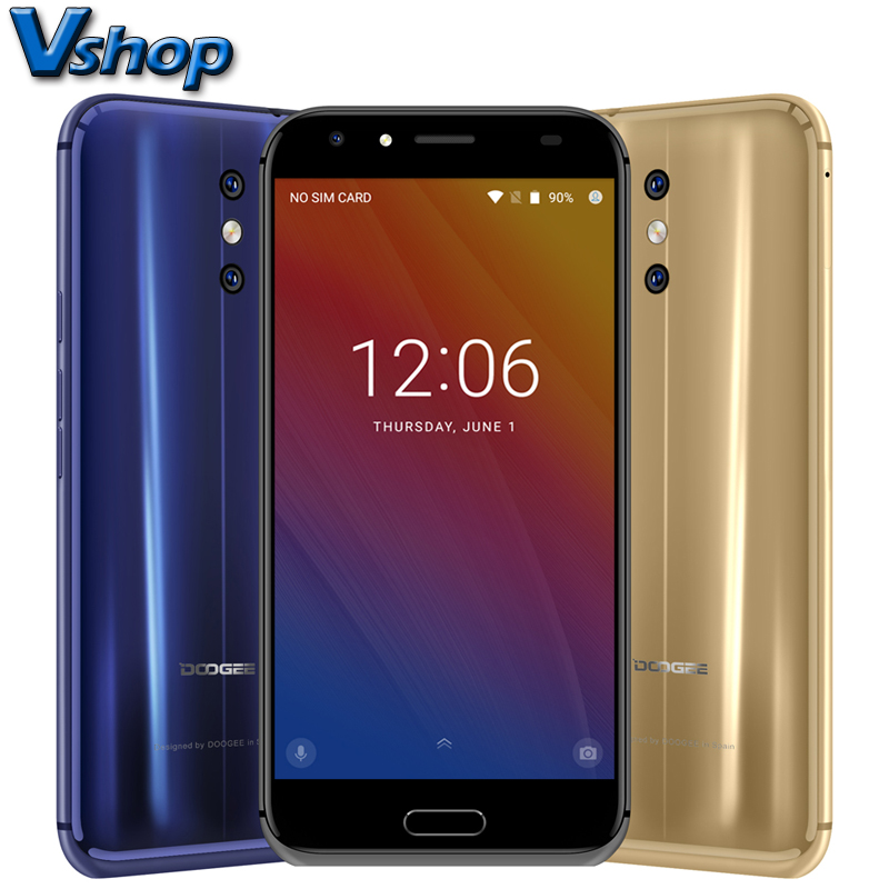 Original DOOGEE BL5000 4G Mobile Phones Android 7.0 4GB+64GB Octa Core Smartphone 1080P Dual Back Cameras 5.5 inch Cell Phone