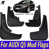 Mudguards 4pcs Black Top Quality Fender Mud Flaps Splash Guard For AUDI Q5 LFD 400 007